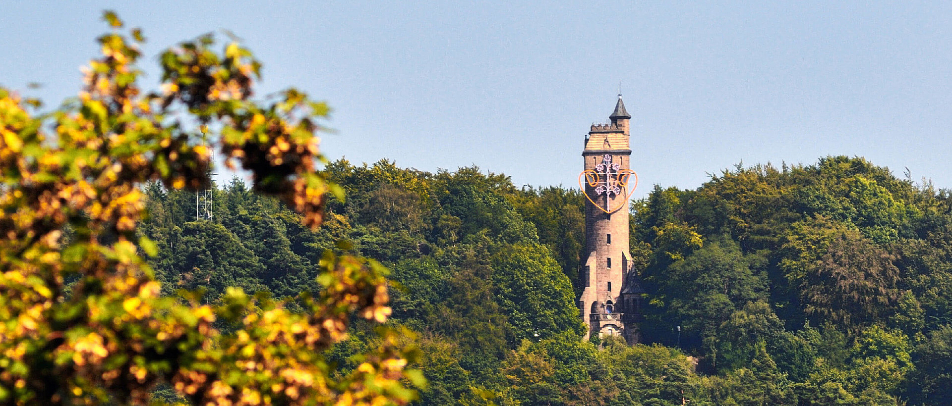 Der Marburger Spiegelslustturm, Fotocredit Georg Kronenberg