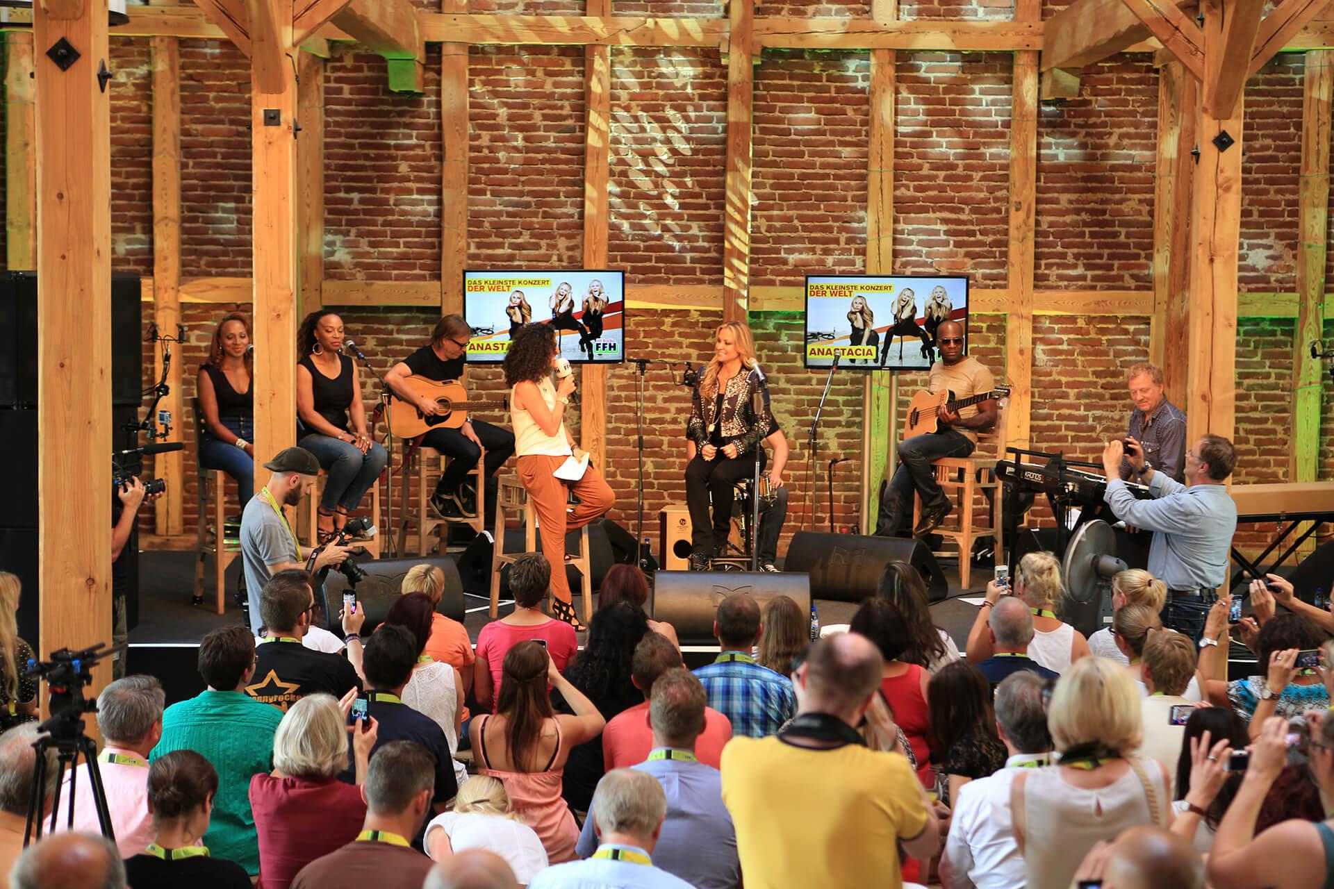 Anastacia Konzert auf dem Hofgut Dagobertshausen