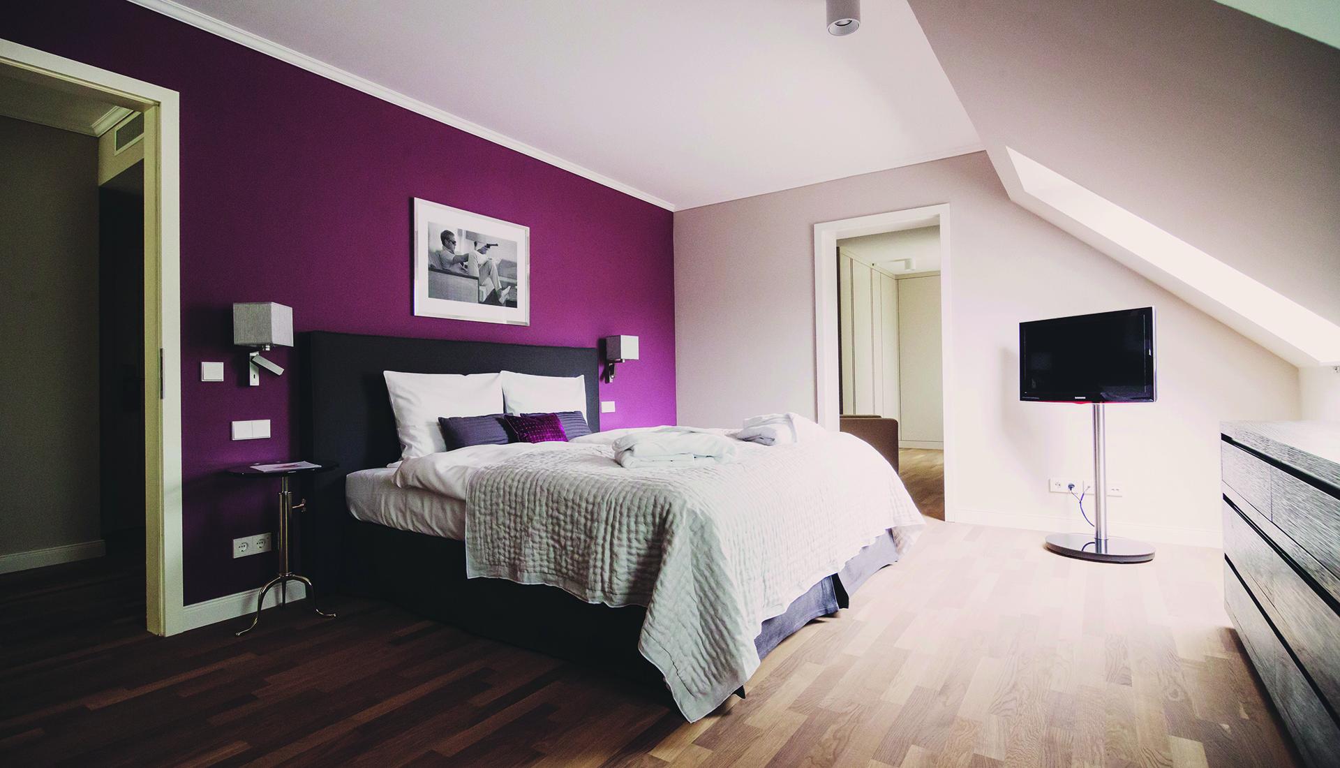 Das Hotel VILA VITA Rosenpark in Marburg