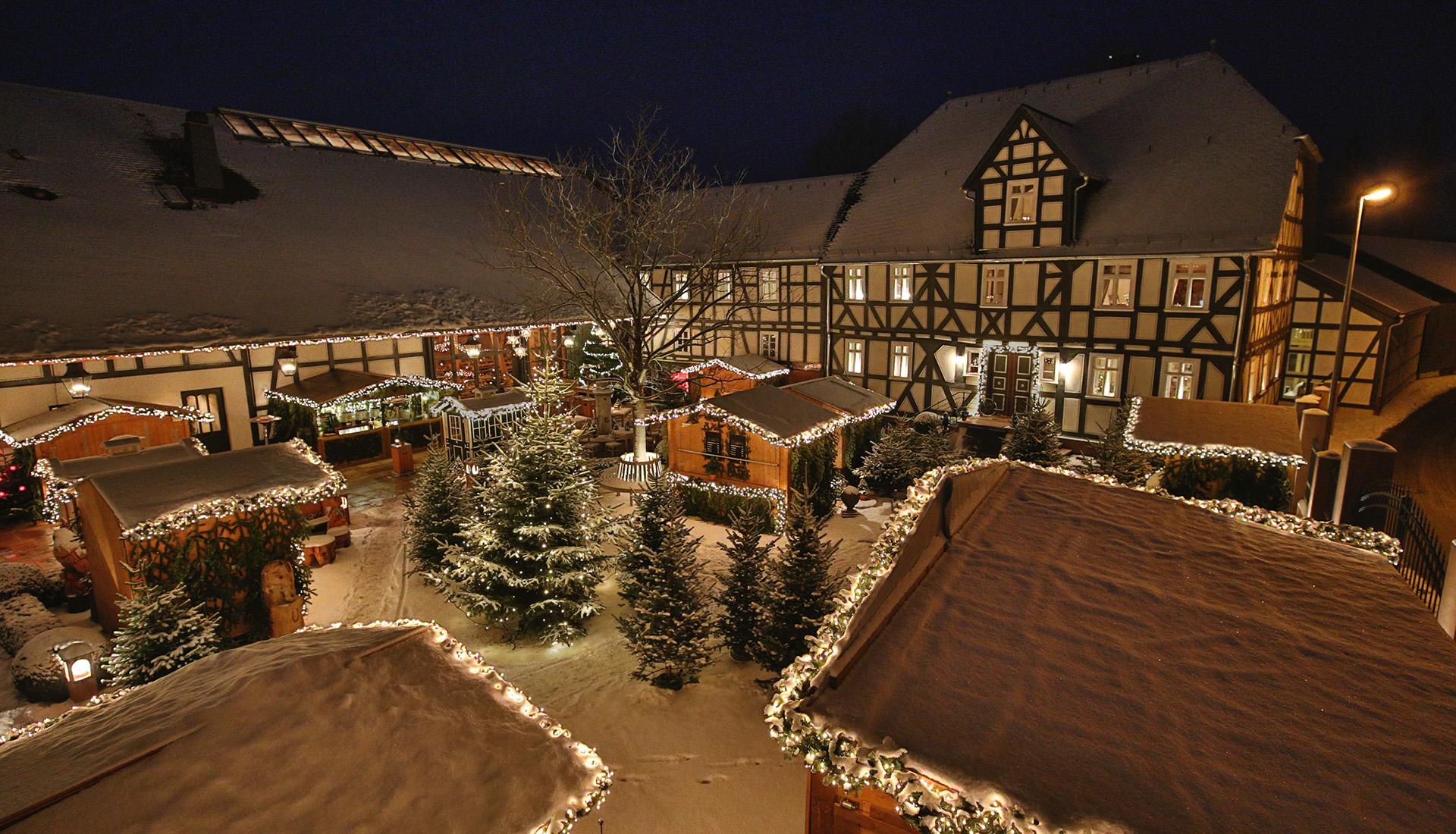 Weihnachtsmarkt auf dem Hofgut Dagobertshausen
