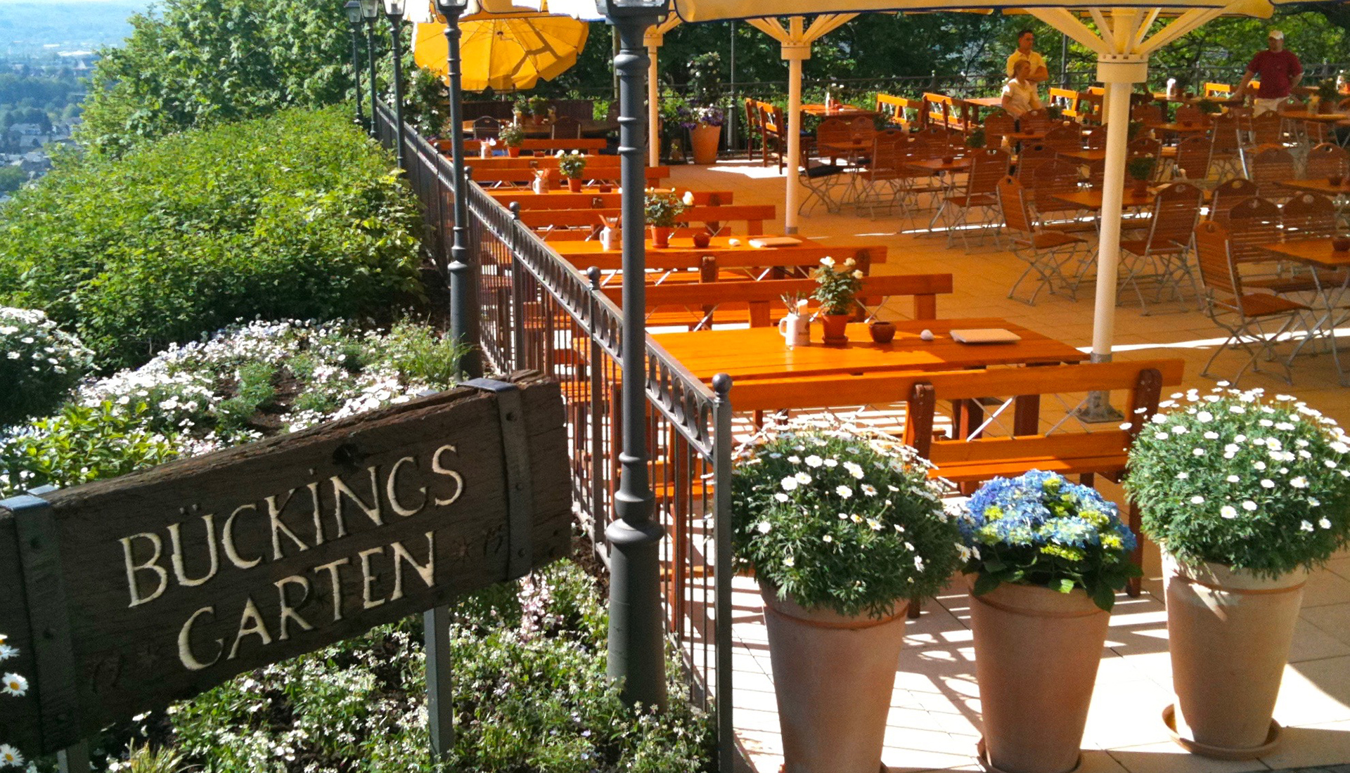 Der Bückingsgarten in Marburg