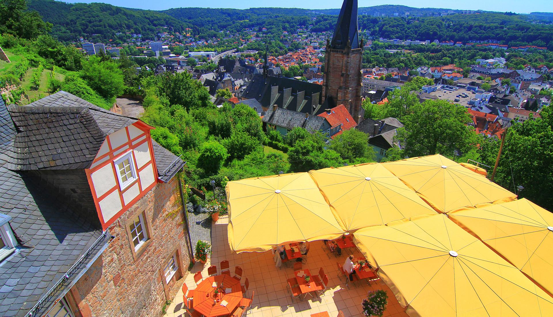 Der Bückingsgarten in Marburg