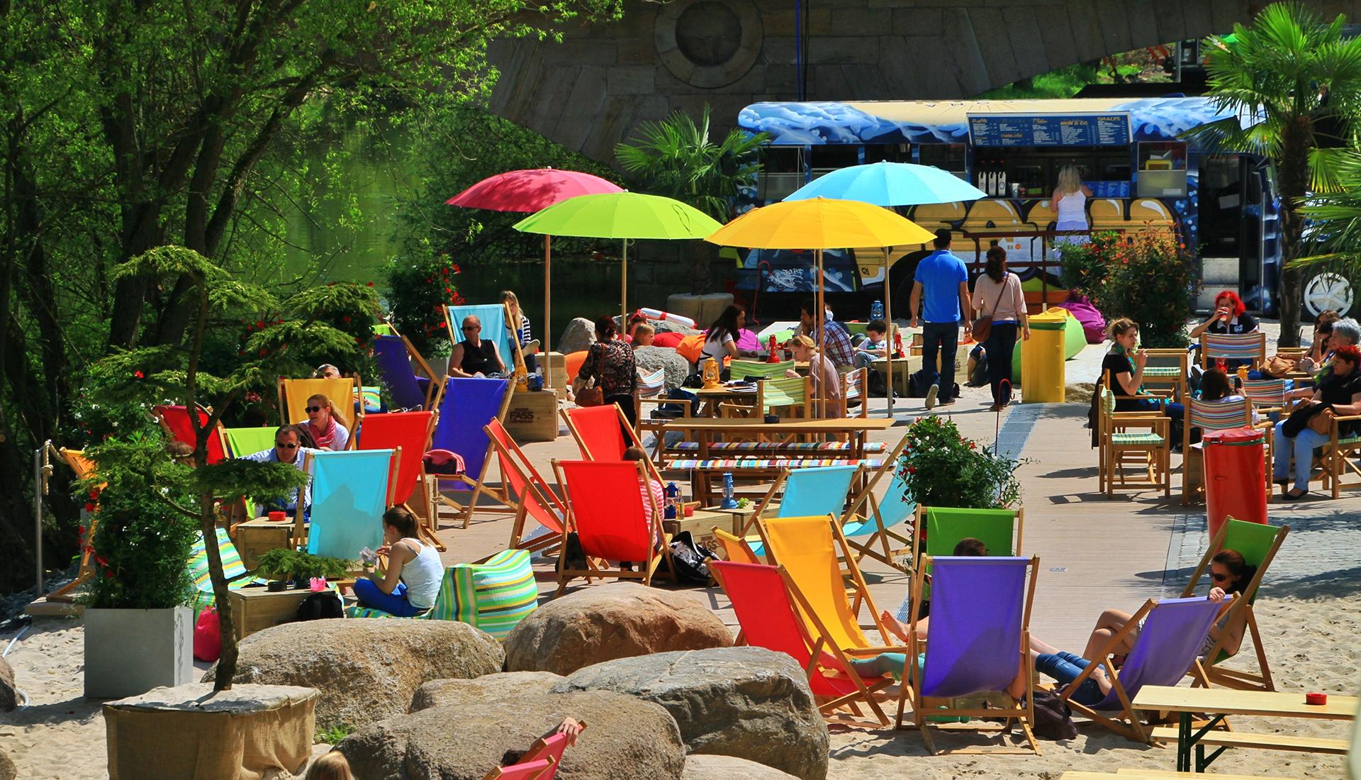 Der Aroma Lahn Beach