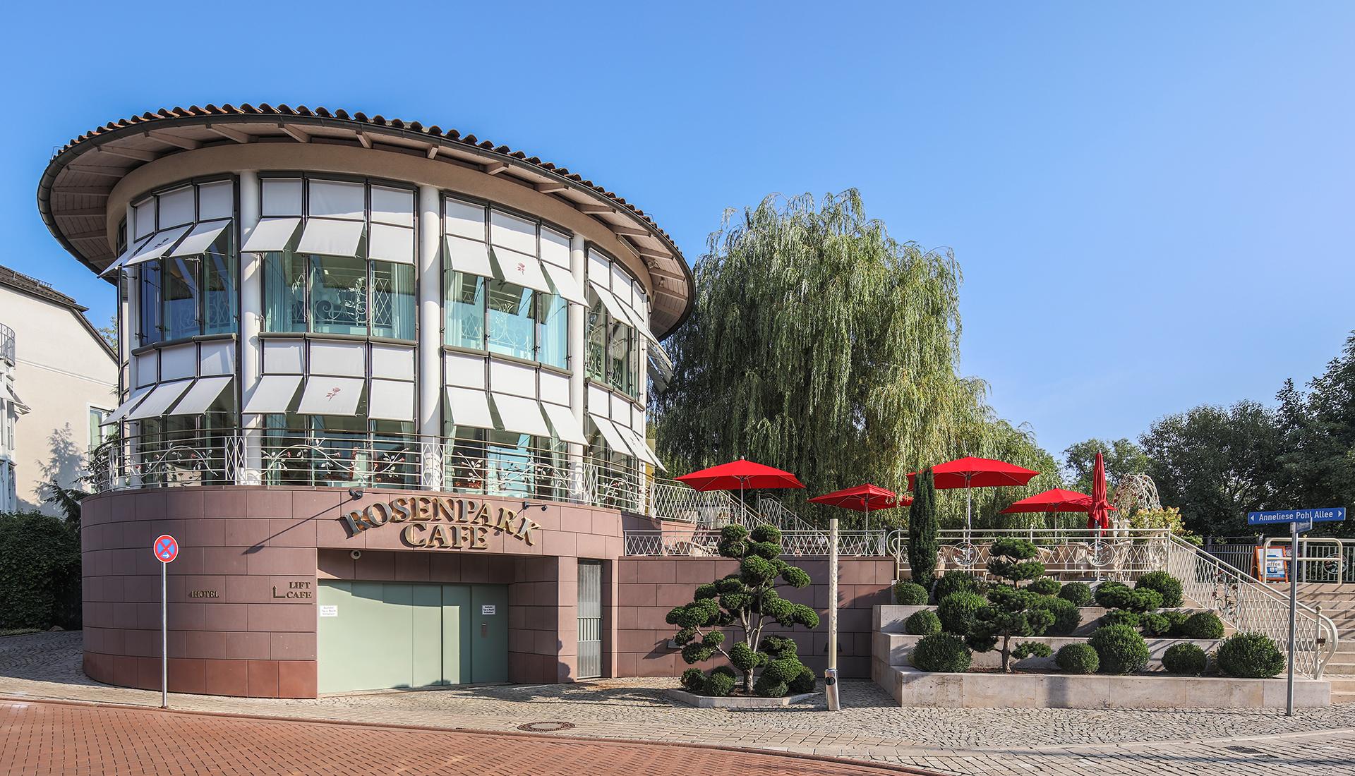 Das Café Rosenpark