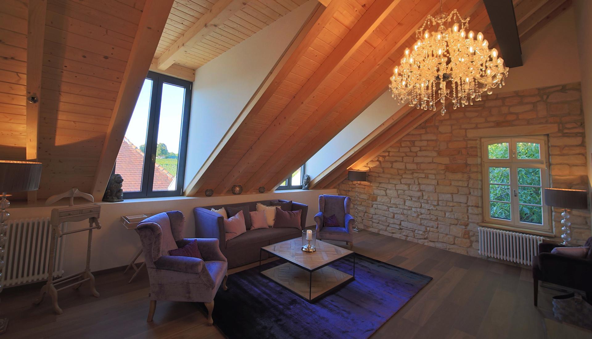Das Gästehaus im Weingut am Nil