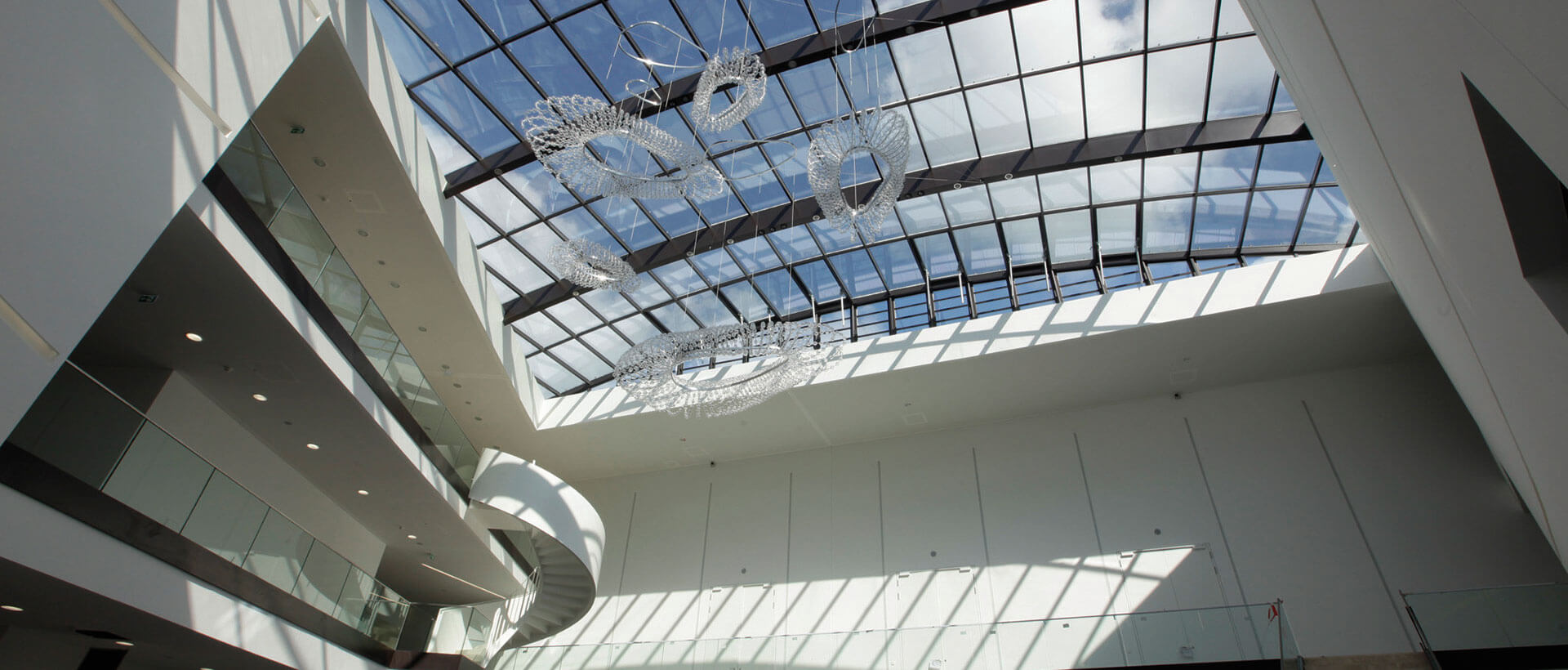 Das Foyer im Congresszentrum Marburg