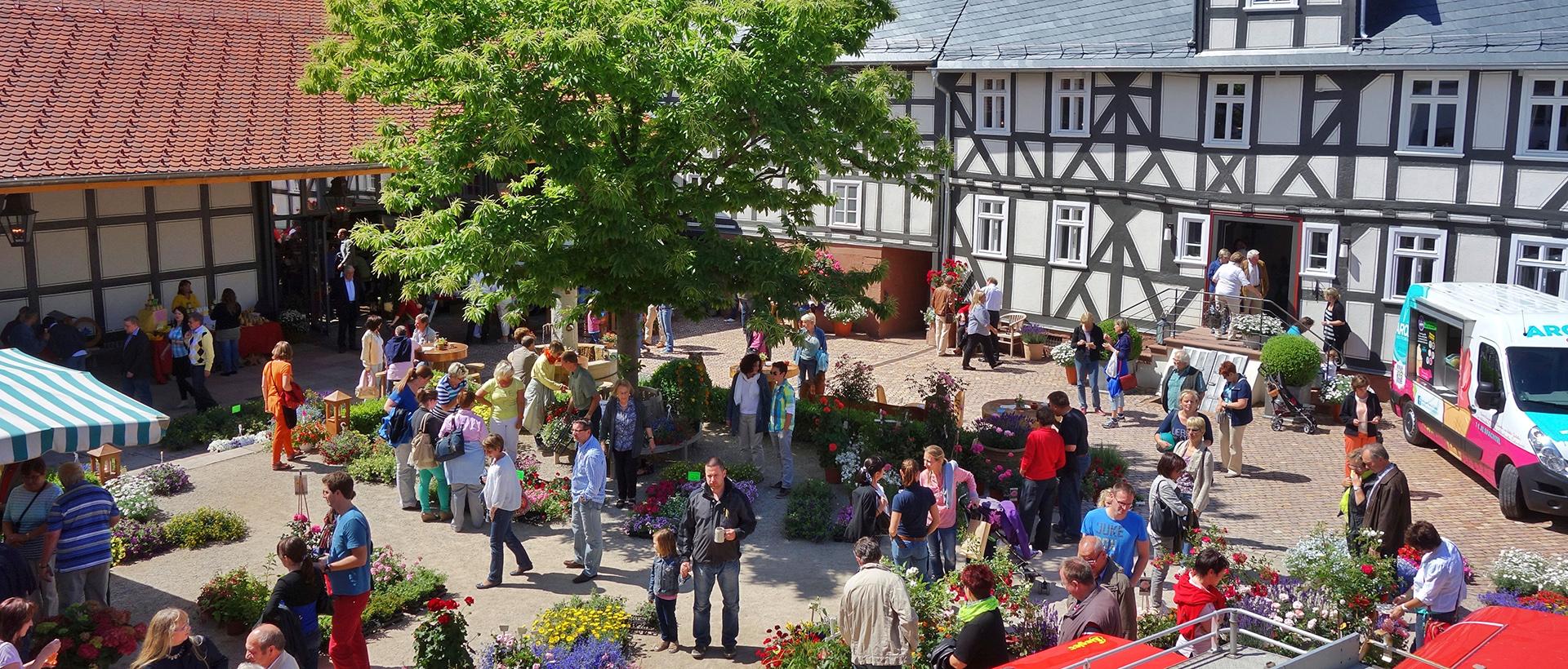 Hoffest auf dem Hofgut Dagobertshausen