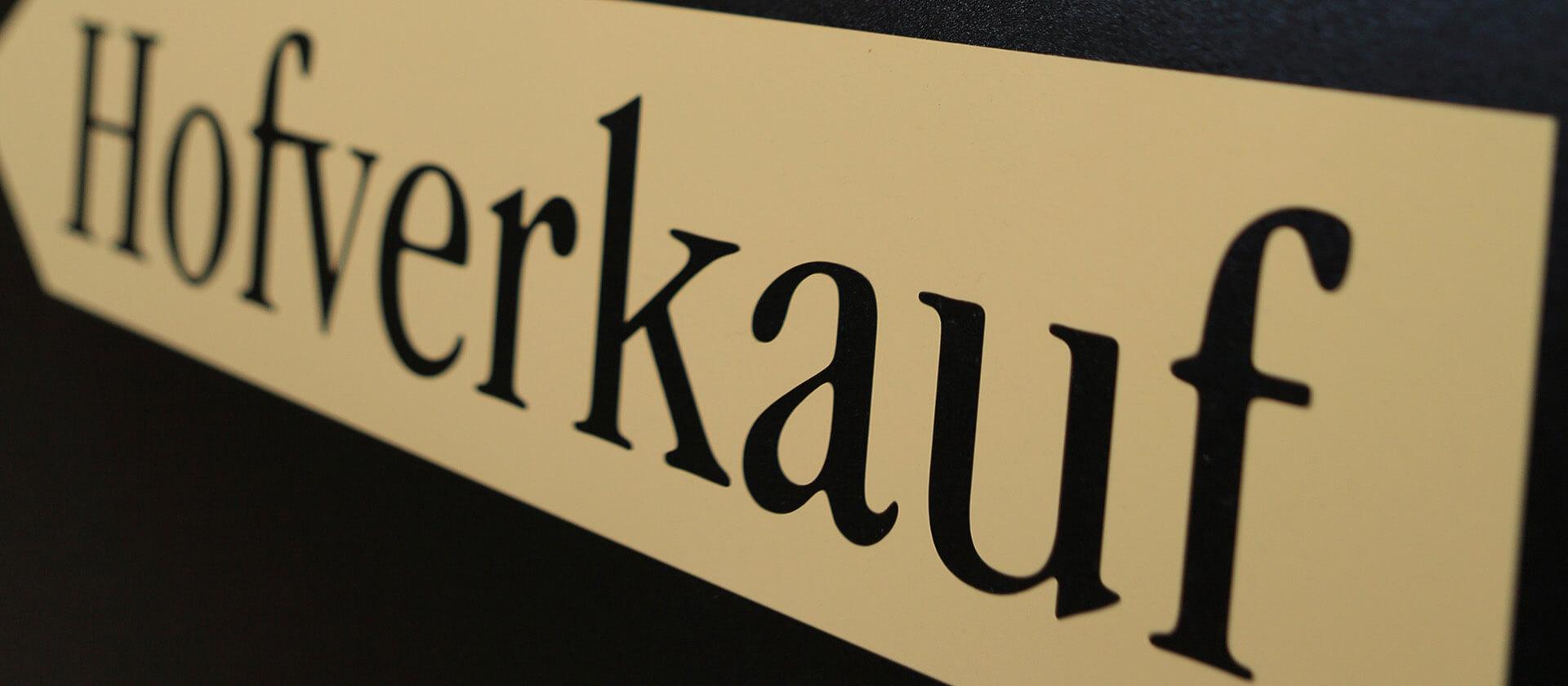 Hofverkauf auf dem Hofgut Dagobertshausen