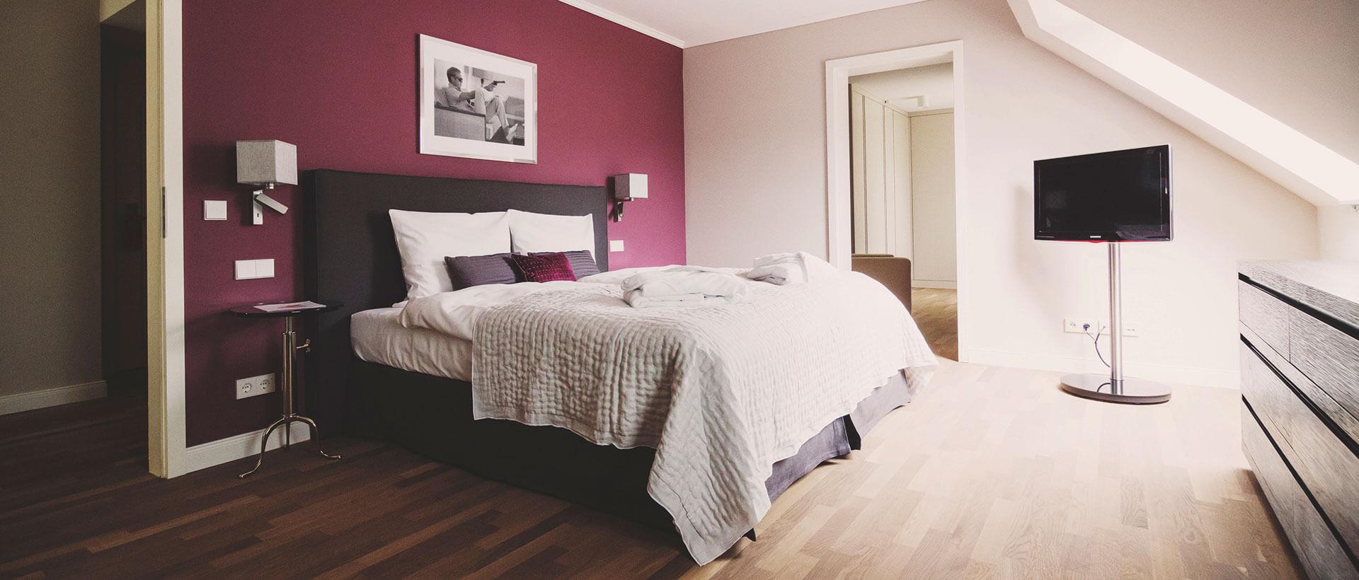Boarding Room in Haus 4 im Hotel VILA VITA Rosenpark