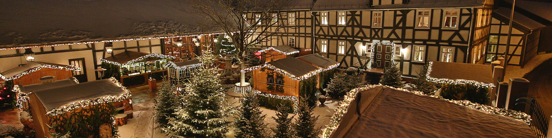 Hofgut Dagobertshausen zur Weihnachtszeit