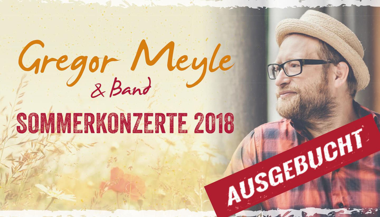 Gregor Meyle auf dem Hofgut Dagobertshausen - ausgebucht