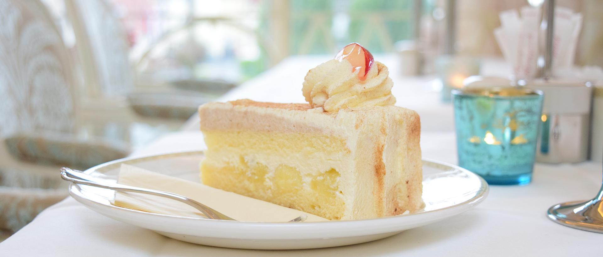 Torten und Kuchen im Café Rosenpark in Marburg