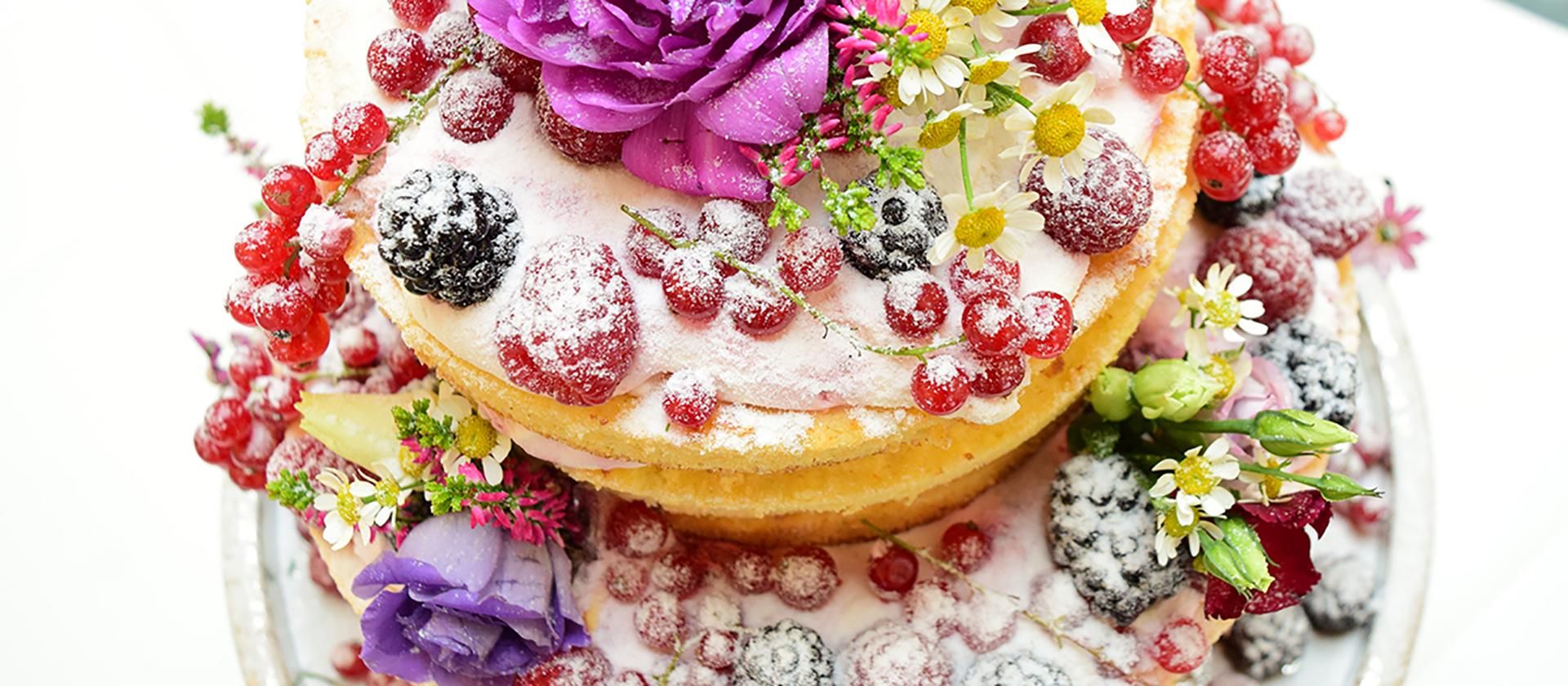 Hochzeitstorte aus dem Café Rosenpark in Marburg