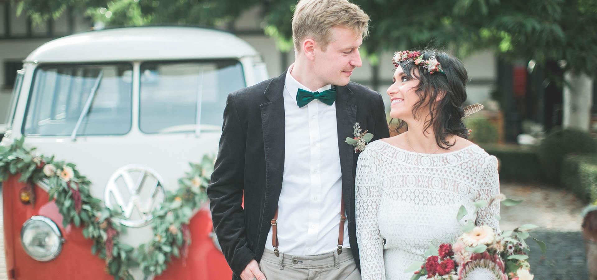 Hochzeit auf dem Hofgut Dagobertshausen