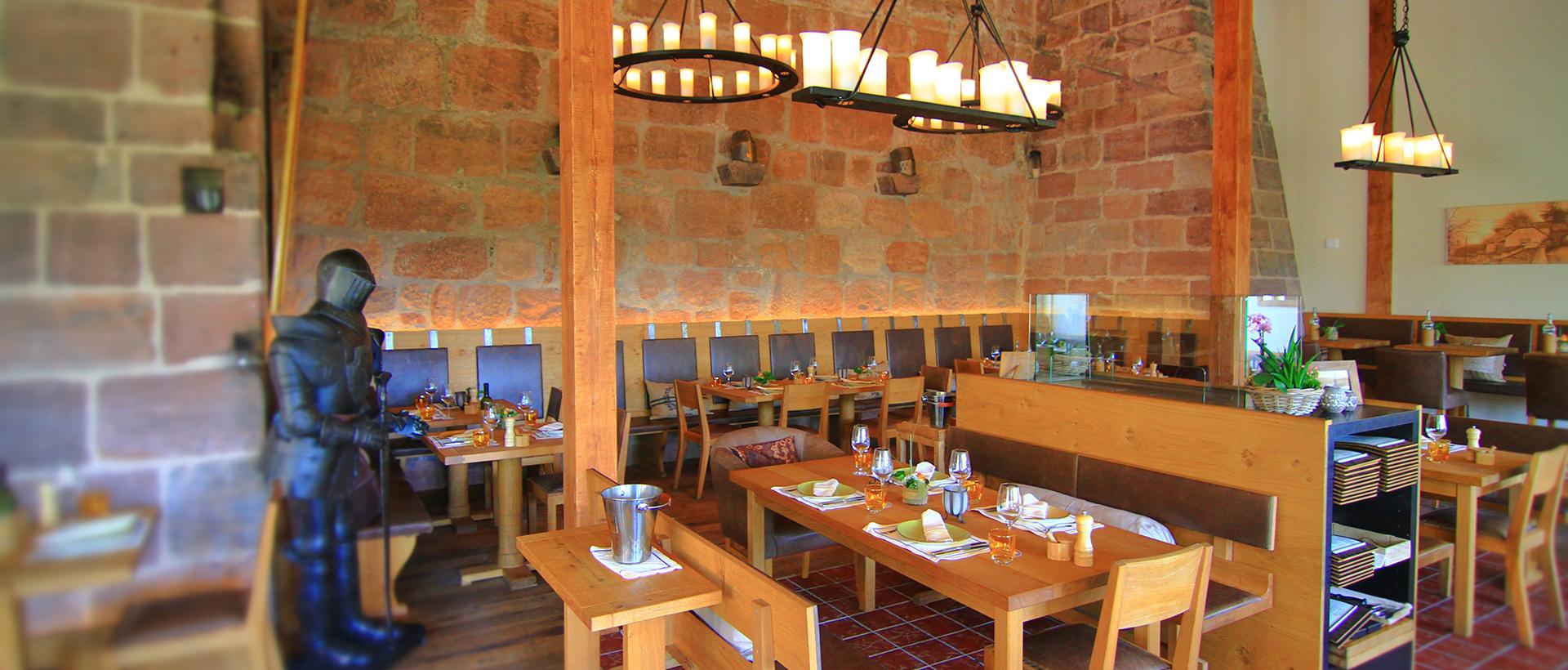 Restaurant Bückingsgarten Innenansicht