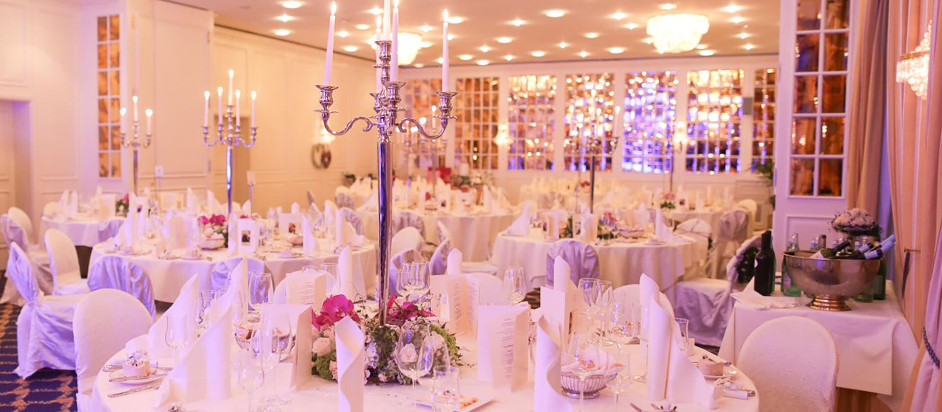 Der VILA VITA Rosenpark als Eventlocation - Der Spiegelsaal Vivaldi
