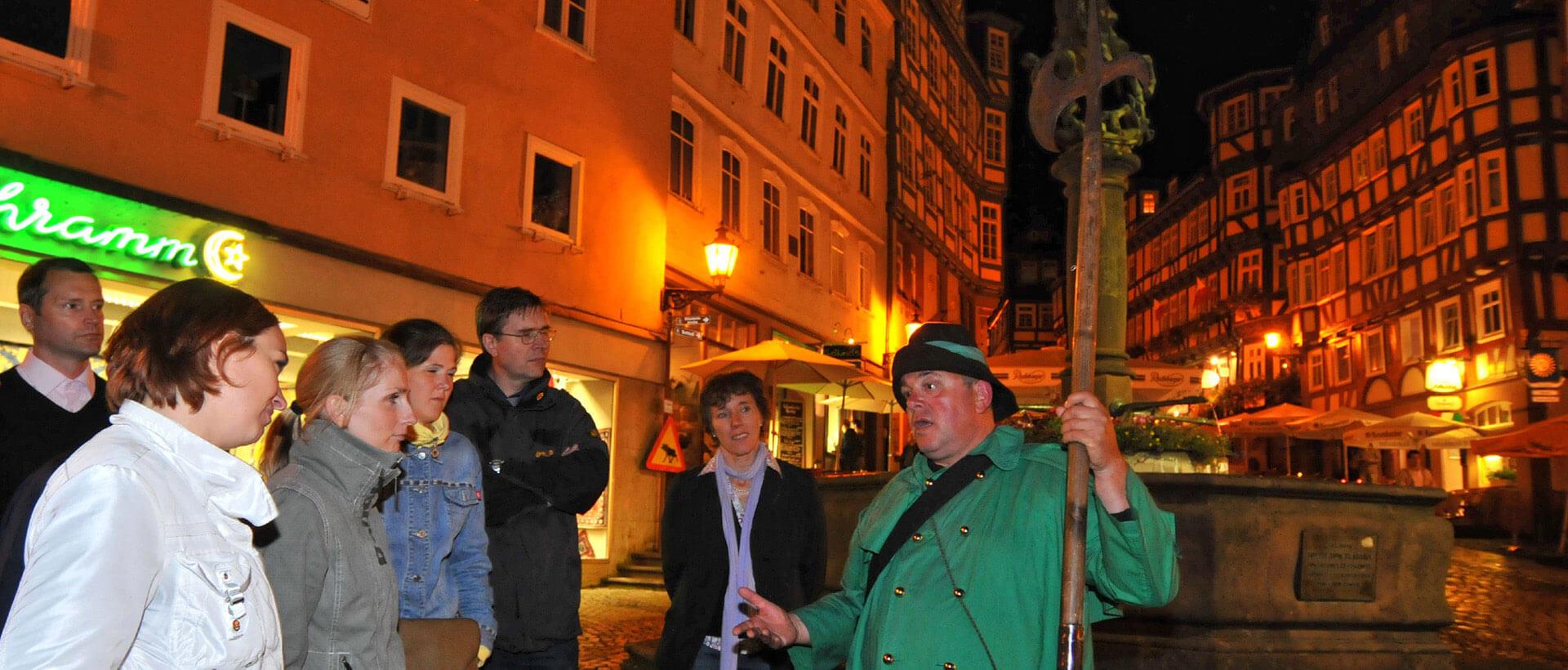 Der Marburger Nachtwächter, Credit Georg Kronenberg