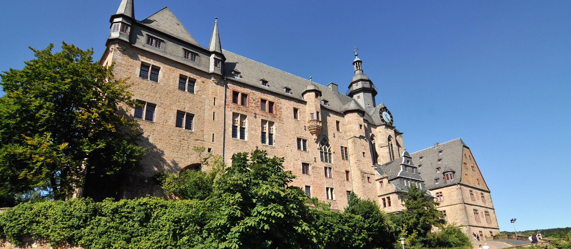 Das Marburger Landgrafenschloss, Credits Georg Kronenberg