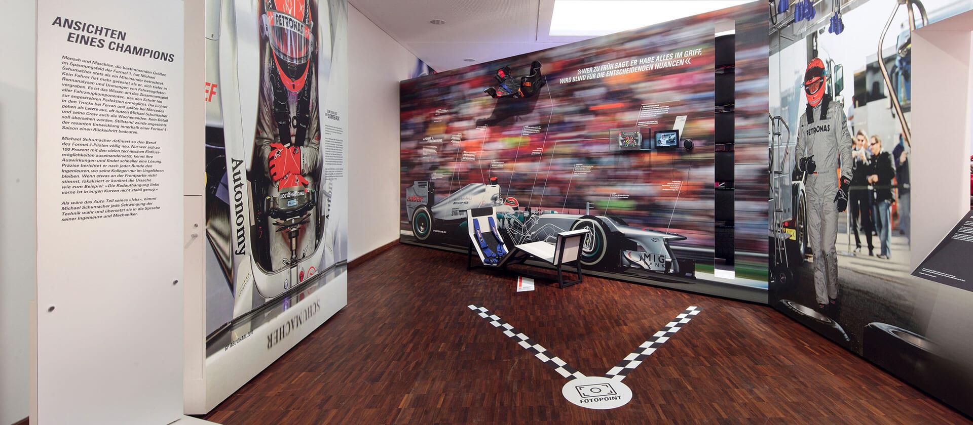 Die Michael Schumacher Ausstellung in Marburg