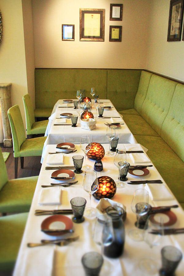 Familienfeier im Marburger Esszimmer