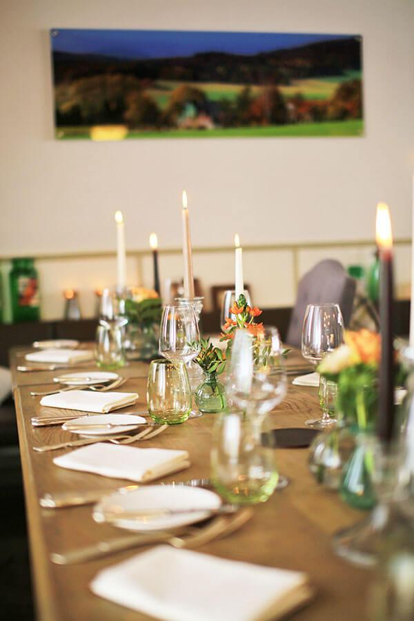 Familienfeier im Restaurant Waldschlösschen Dagobertshausen