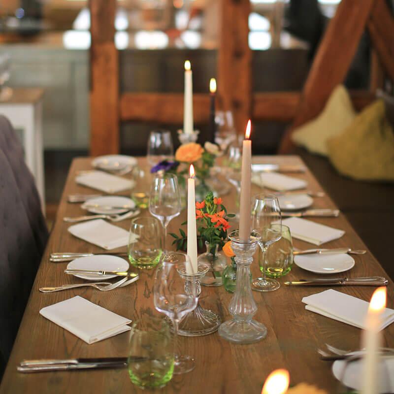 Firmenfeier im Restaurant Waldschlösschen Dagobertshausen