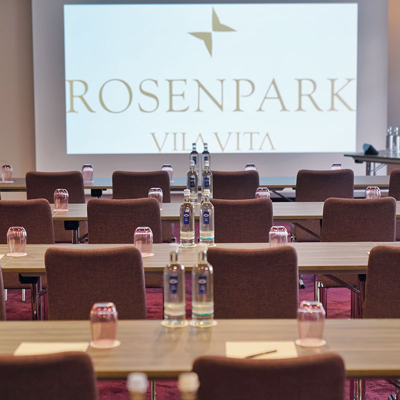 Tagungsraum Mondial im VILA VITA Rosenpark in Marburg