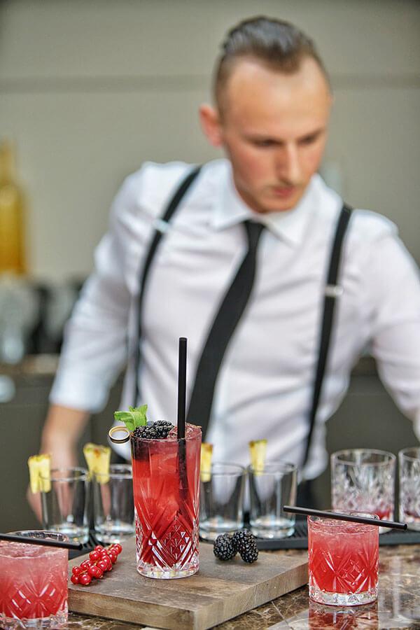 Die Bar im Hotel VILA VITA Rosenpark