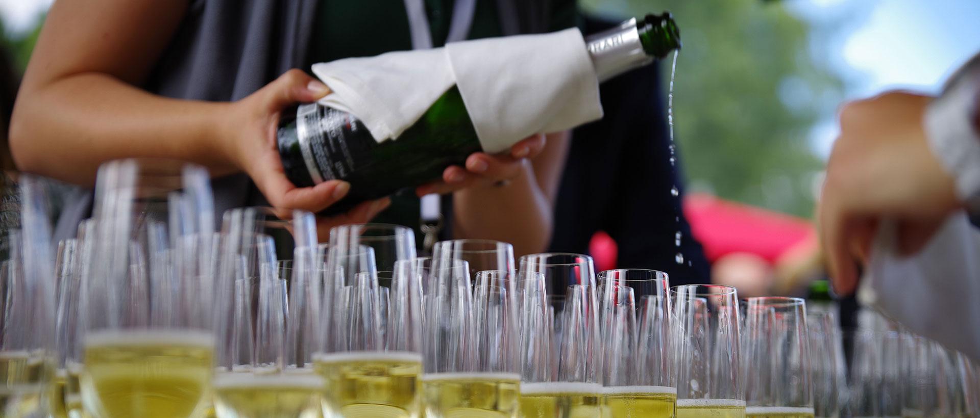 Champagner Landpartie Dagobertshausen