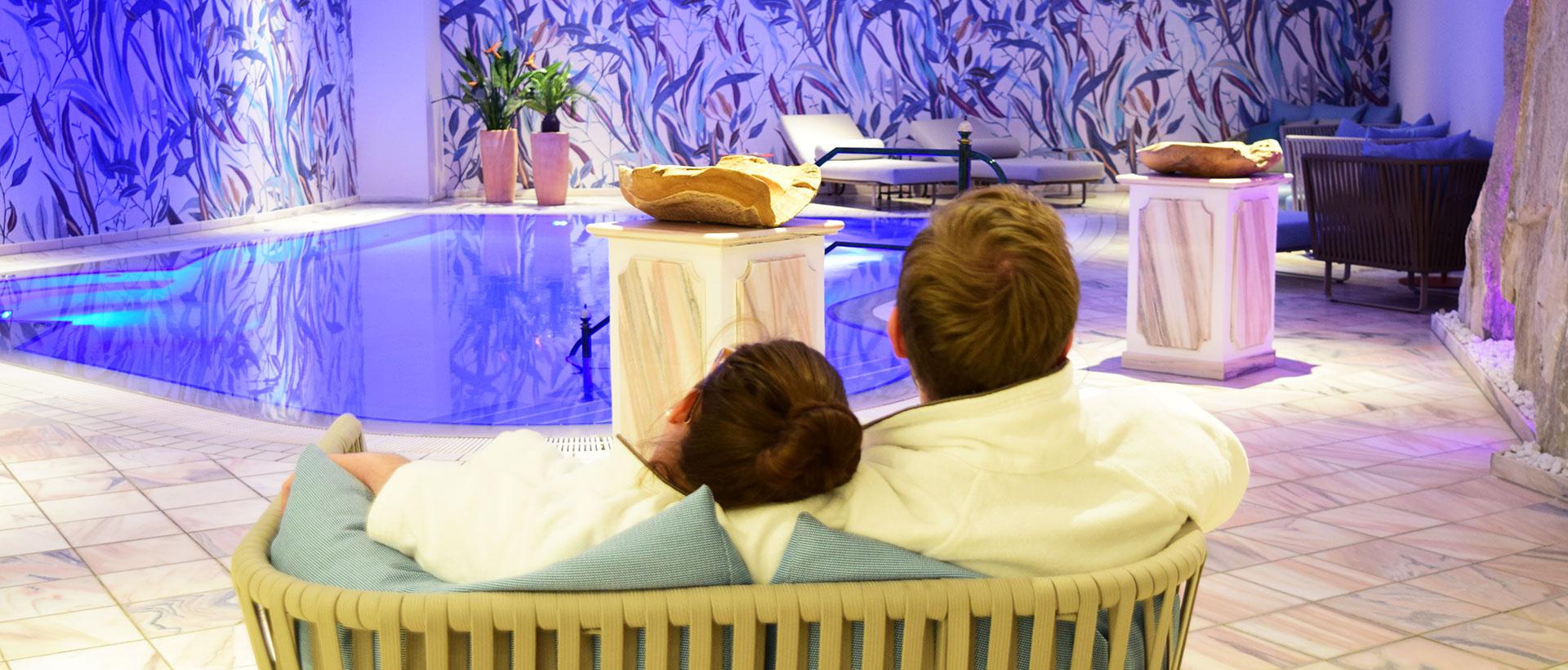 Wellness zu Zweit im Hotel VILA VITA Rosenpark in Marburg