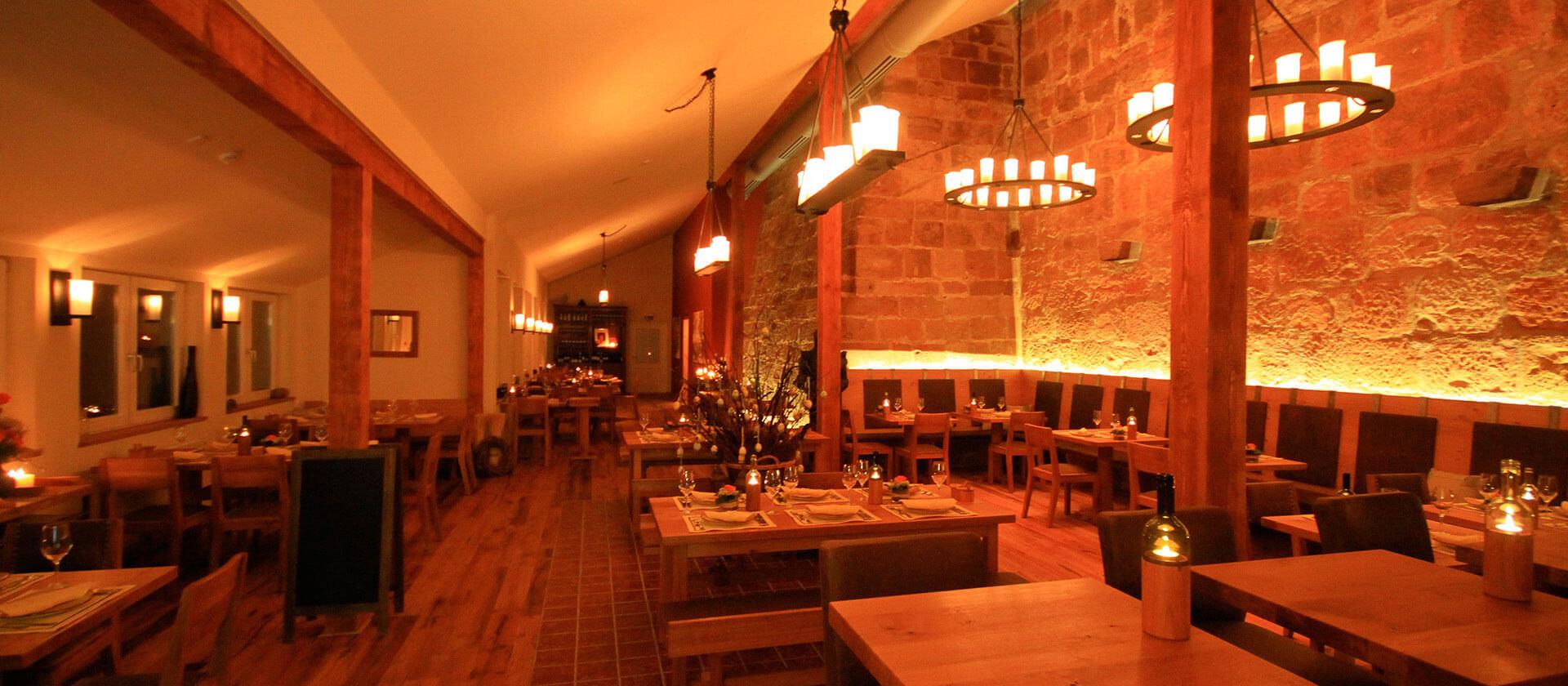 Zeit zu Zweit - Candlelight Dinner im Restaurant Bückingsgarten